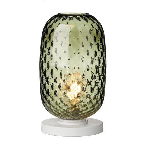 Vidro Table Lamp Green Glass Large VID4324 (Hand made, 7-10 day Delivery)